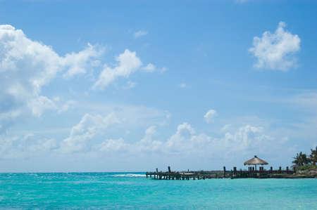Tropical Dream Paradise Beach Panorama  Standard-Bild - 2837994