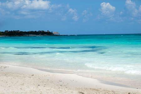 Tropical Dream Paradise Beach Panorama  Standard-Bild - 2837996