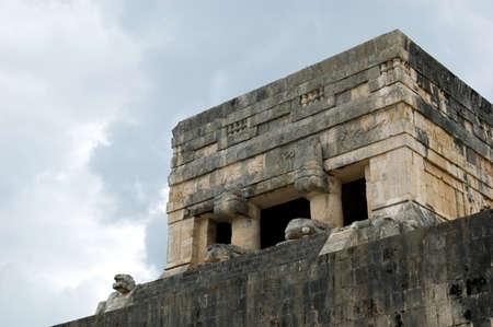 Chichen Itza. Die große Pyramide.  Standard-Bild - 2846078