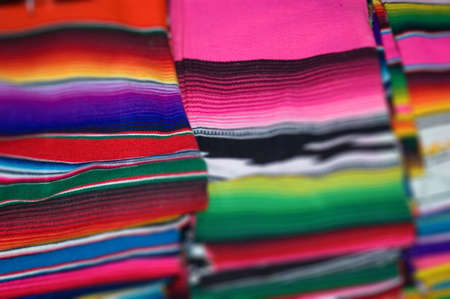 very touristic gift a Mexican Blanket