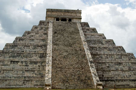 Chichen Itza. The Great Pyramid.