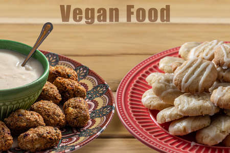 Natural vegan foods and desserts. Healthy and tasty.