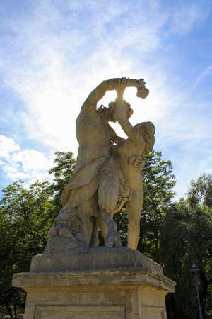 Sculpture in the park Imagens