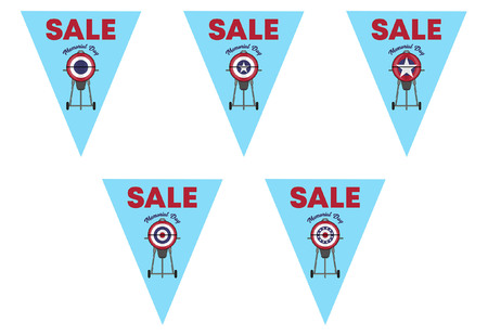 Memorial Day Sale on Triangle Bunting Flags.