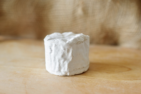 Buch cheese with white mold
