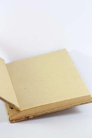 hojas: libro Stock Photo