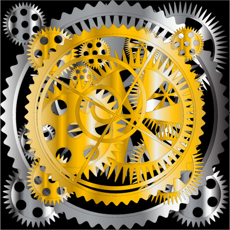 mechanism Stock Vector - 6878885