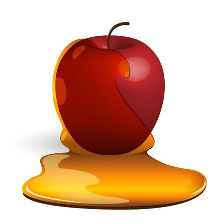 キャラメル: アップル