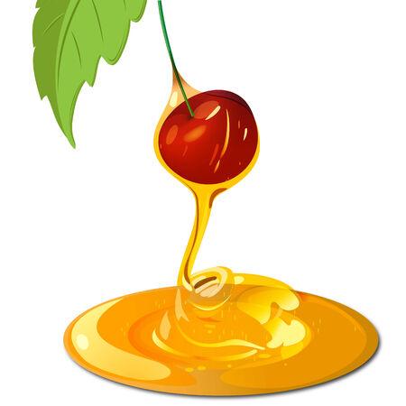syrup: Cereza