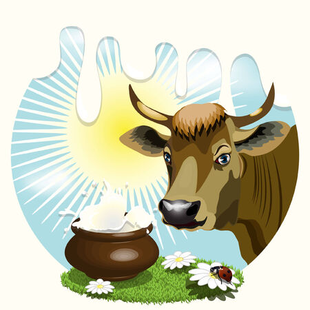 Cow Stock Vector - 7044568