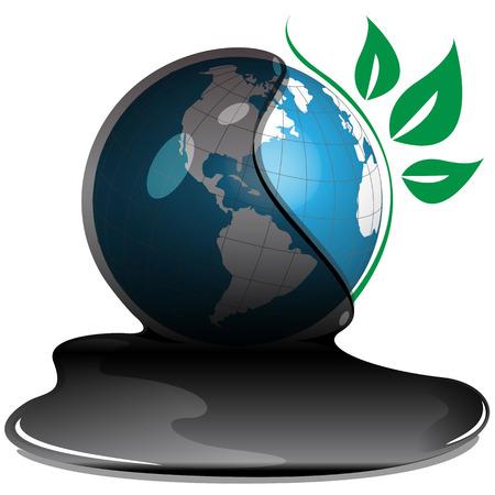 bio fuel: globe