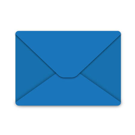 Blue envelope Vector