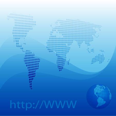 Internet Stock Vector - 7090289