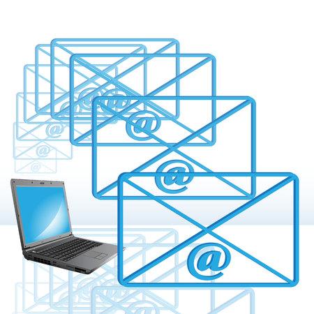 E-mail Stock Vector - 7090287