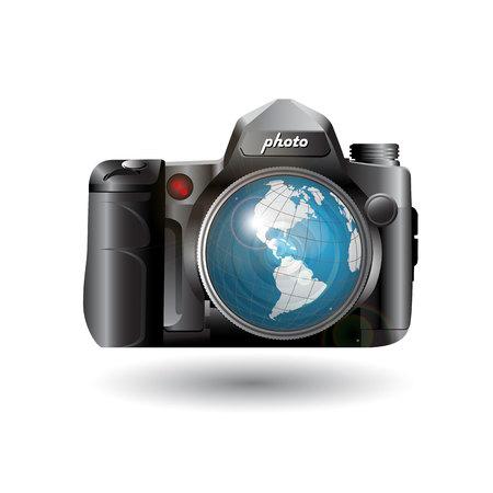 reflex camera: photo