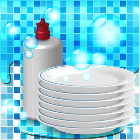 dish washing: Piastre