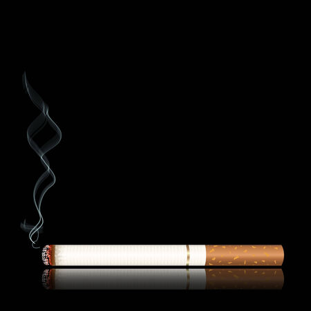 Smoking Stock Vector - 7144409