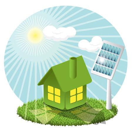 green smoke: Solar battery