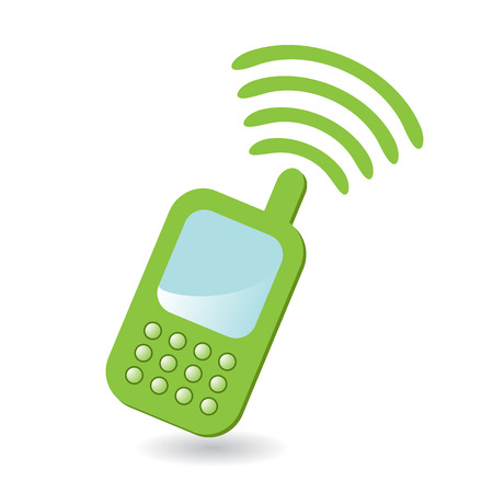 cell phone icon: telephone