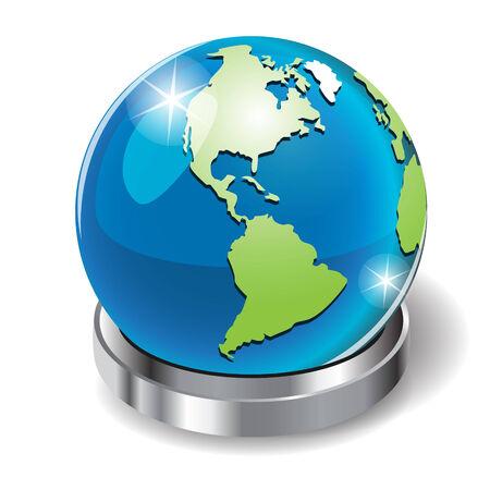 planisphere: globe