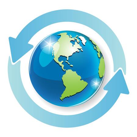 planisphere: globo