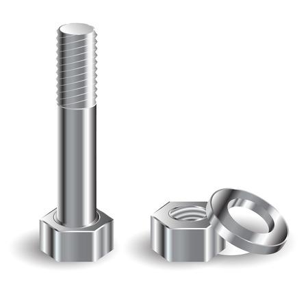 fastening: bolt Illustration
