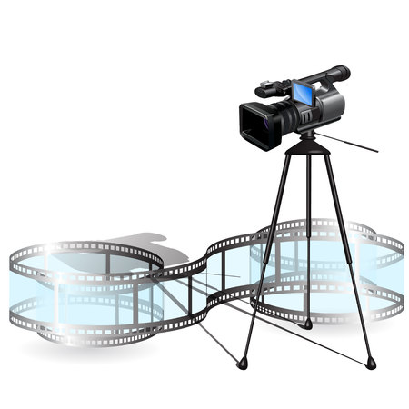 Video camera Stock Vector - 7262961