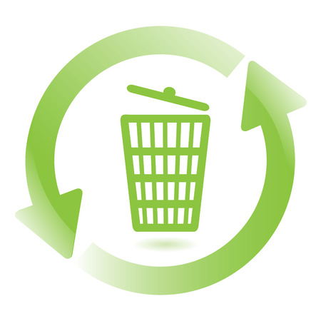 wastebasket: Wastebasket Illustration