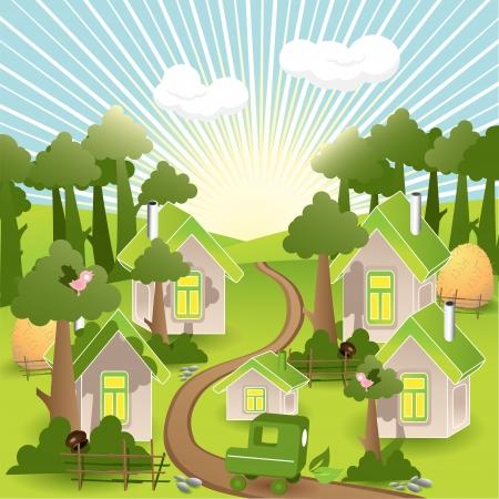 guard house: green city