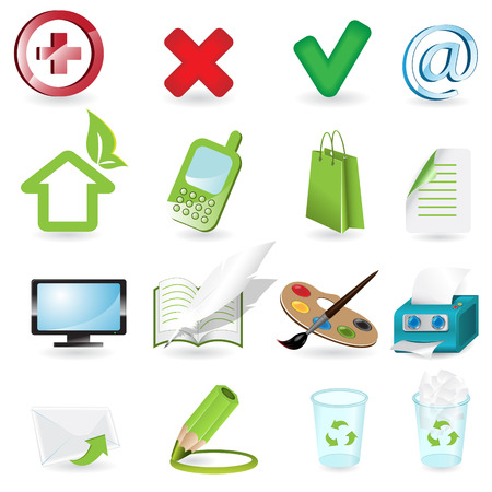 icons Stock Vector - 7394357
