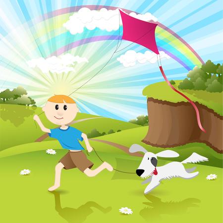 bluff: ragazzo e il cane