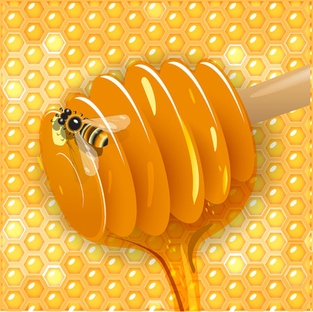 sweetness: honey