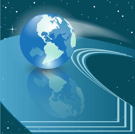 environnement entreprise: globe