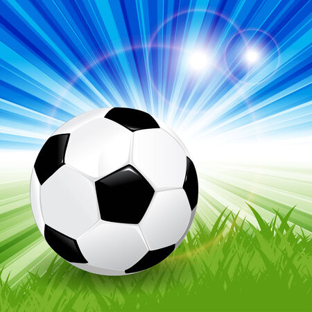 soccer ball Stock Vector - 7627754