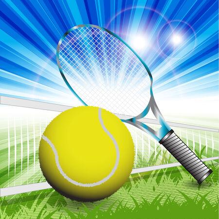 tennis Stock Vector - 7650522