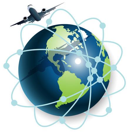plane Stock Vector - 7707676