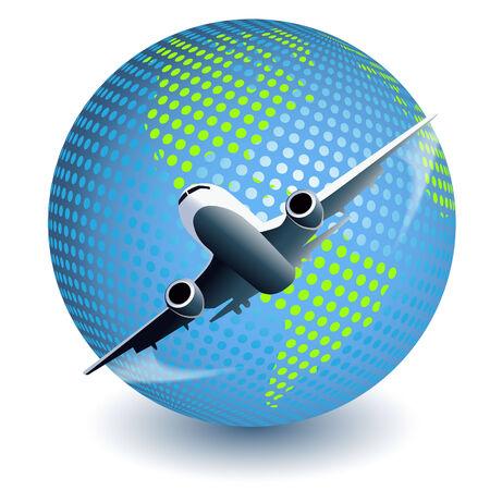 plane Stock Vector - 7707678