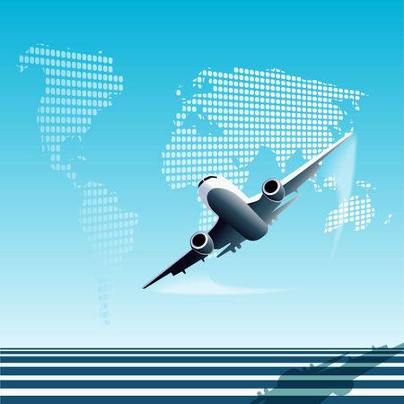 plane Stock Vector - 7707681