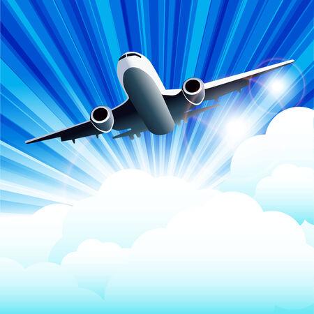 plane Stock Vector - 7735587