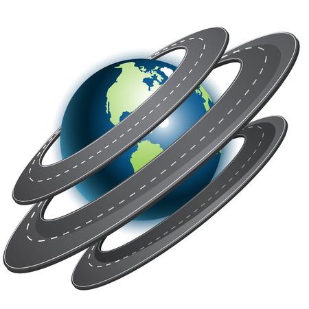 route Illustration