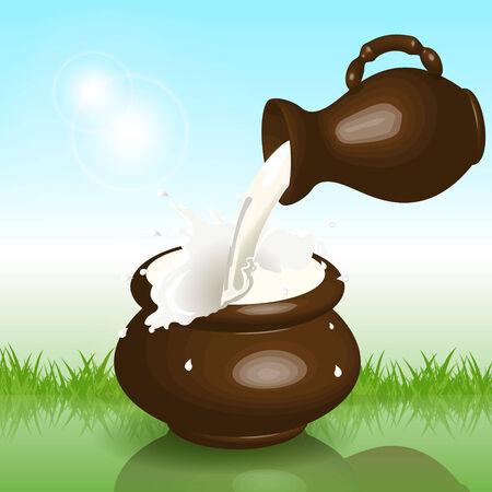 milk Stock Vector - 7893024