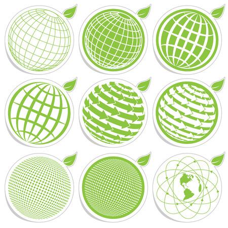 icon globe Illustration