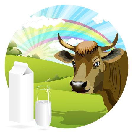 cow Stock Vector - 8127361