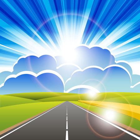 road Stock Vector - 8196889