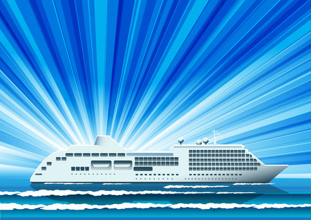 cruise liner: ship
