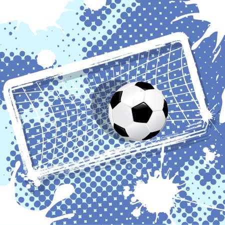 soccer fields: soccer Illustration