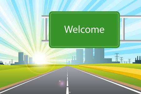 welcome Stock Vector - 8520254