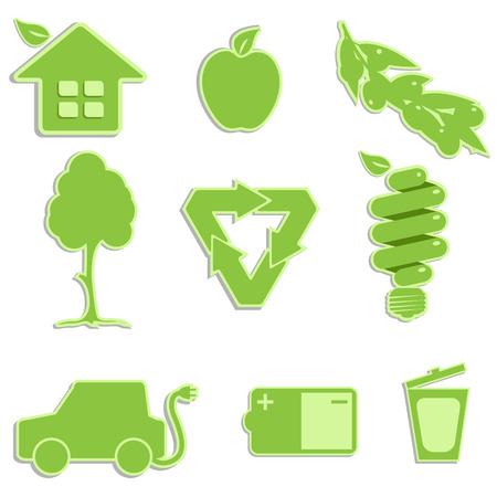 green icon Stock Vector - 8660693