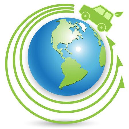 electric car: bio car