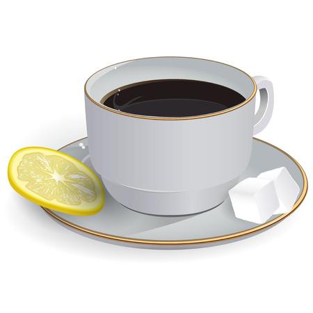 vapour: Tea with lemon